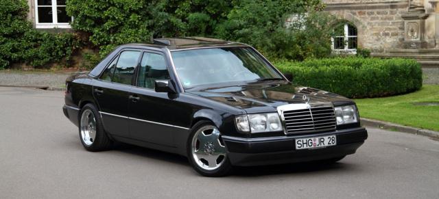Mercedes Citan Tuning >> Die einzig wahre Mercedes-Benz E-Klasse?: Das Service-Pack: W124 vom Basismodell (fast) zur ...