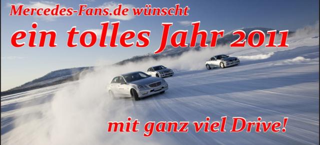 Mercedes-Fans.de wünscht ein frohes neues Jahr 2011: Speziell ...