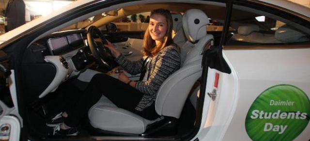 """save the date: daimler students day"""" am 08.05.2015"""