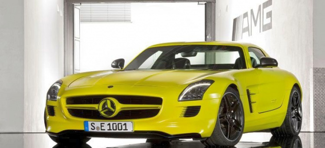 sls amg e cell mercedes bringt sls mit elektroantrieb. Black Bedroom Furniture Sets. Home Design Ideas