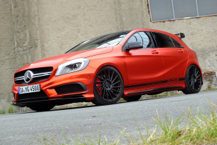 Red Heat: Mercedes-AMG A45 4Matic: 2015er W176 mit heißem Topping