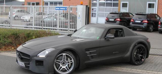 Erlkönig: Mercedes SLS AMG Black Series: Erste Bilder vom neuen ...