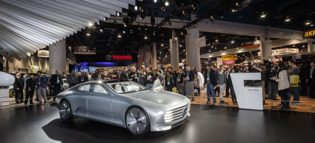 "Digitalisierung & Automobil: Mercedes auf der CES 2016: ""It's all about me"""