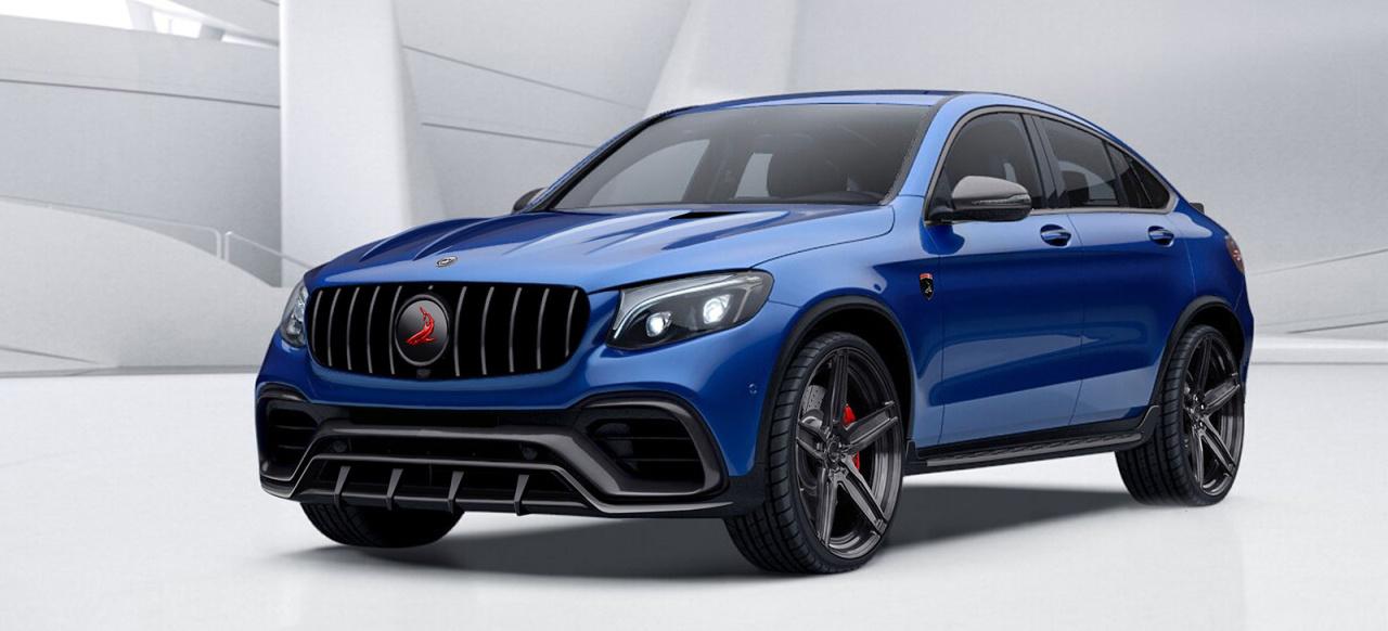 Mercedes-Benz GLC Coupé Tuning: Höllisch gut? Topcar ...