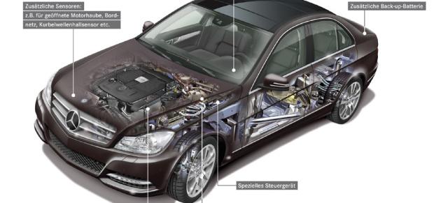 Mercedes Technik Eco Start Stopp So Funktioniert Der Eingebaute