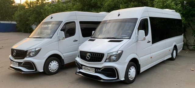 Mercedes-Benz Sprinter Tuning: Extraportion Sportlook: Optik-Tuning im AMG-Style für den Mercedes Sprinter
