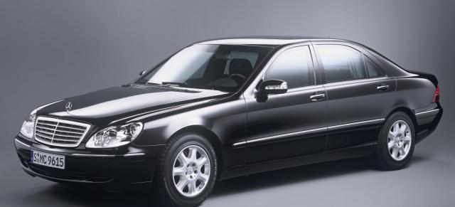 Mercedes Benz Baureihen Die S Klasse W220 1998 2005