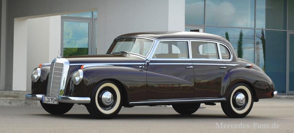 1952 mercedes benz 300 w186 sieben jahre lange for Mercedes benz of wilmington de