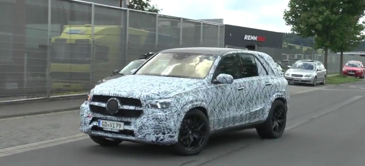Mercedes Benz Unimog 2018 >> Erlkönig erwischt: Mercedes-Benz GLE 2019: Spy Shot Video: Aktuelle Bewegtbilder vom kommenden ...