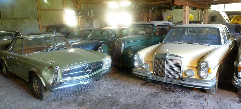 Mercedes Roadster Coupe V De