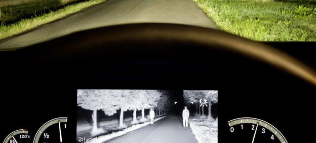 Mercedes Gls Amg >> Nachtsicht-Assistent: Mit Infrarot-Scheinwerfern besser ...