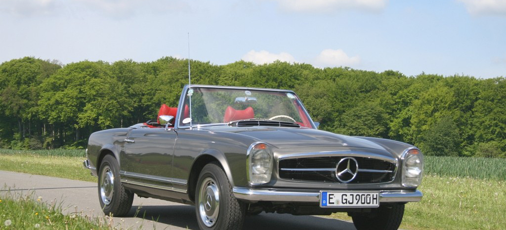 fast verschrottet 1969 mercedes benz pagode 280 sl w113. Black Bedroom Furniture Sets. Home Design Ideas