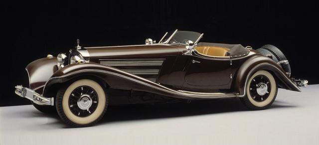 Vor 80 Jahren Der Mercedes 500 K Spezial Roadster 1934 In