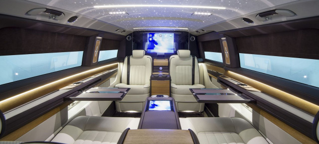 Mercedes-Benz V-Klasse: OKCU präsentiert V-Klasse mit Luxusinterieur ...