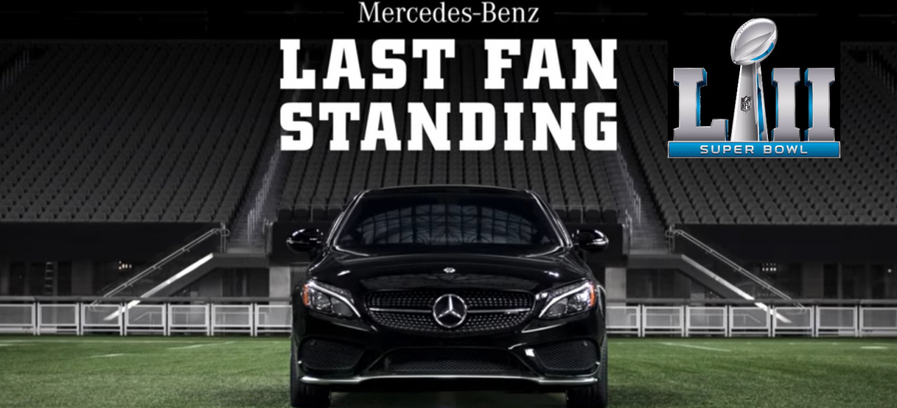 Super Bowl 2018 Und Mercedes Benz Last Fan Standing Mit
