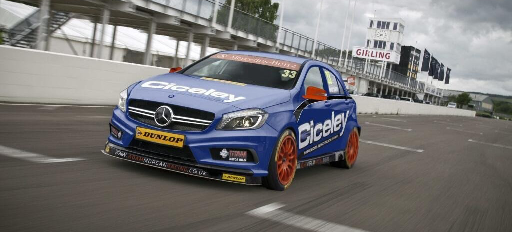 Slc Kit Car >> Ready to race: Mercedes Neue A-Klasse wird renntauglich ...