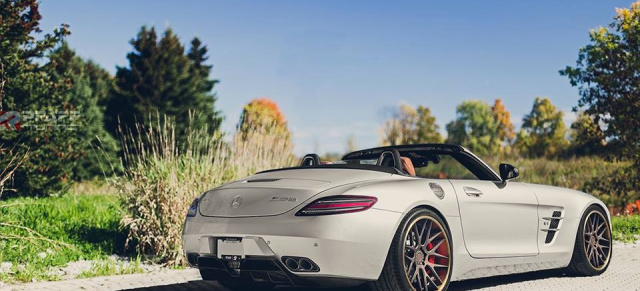 Extrem hörbar: Mercedes SLS AMGodzilla von Pfaff: Mercedes Roadster mit Monstersound