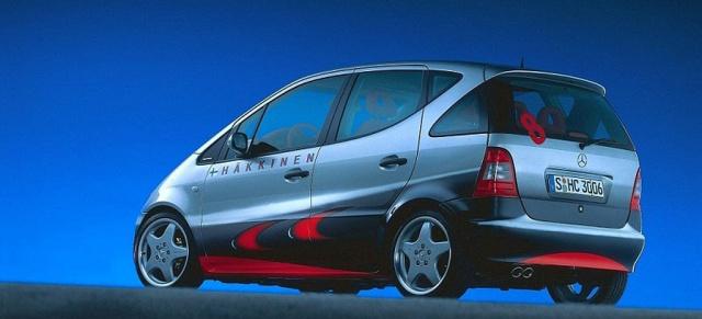 essen motor show 1998: mercedes a-klasse sondermodell formel 1 look