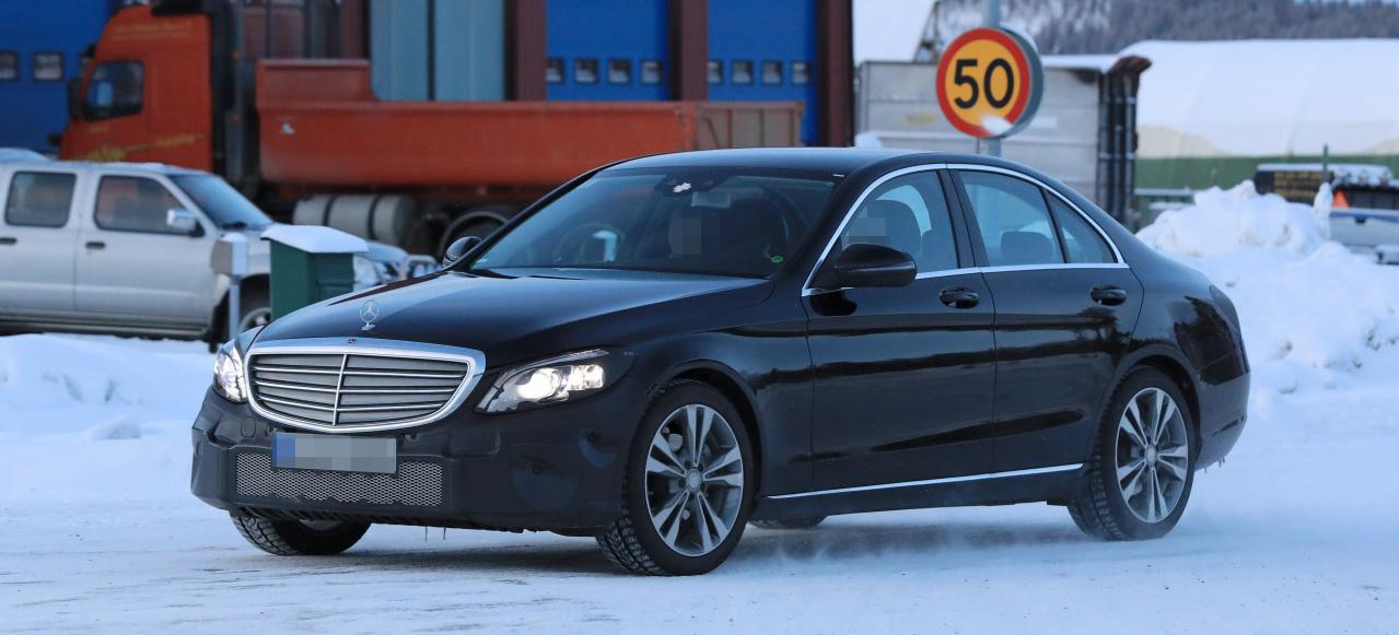 Mercedes Erlkönig erwischt: Spy Shot: Mercedes-Benz C ...