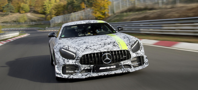 Los Angeles Auto Show 2018: Teaser-Video: Mercedes-AMG GT R PRO