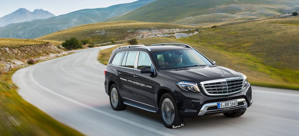 Mercedes Von Morgen Mercedes Maybach Gls Neue Renderings