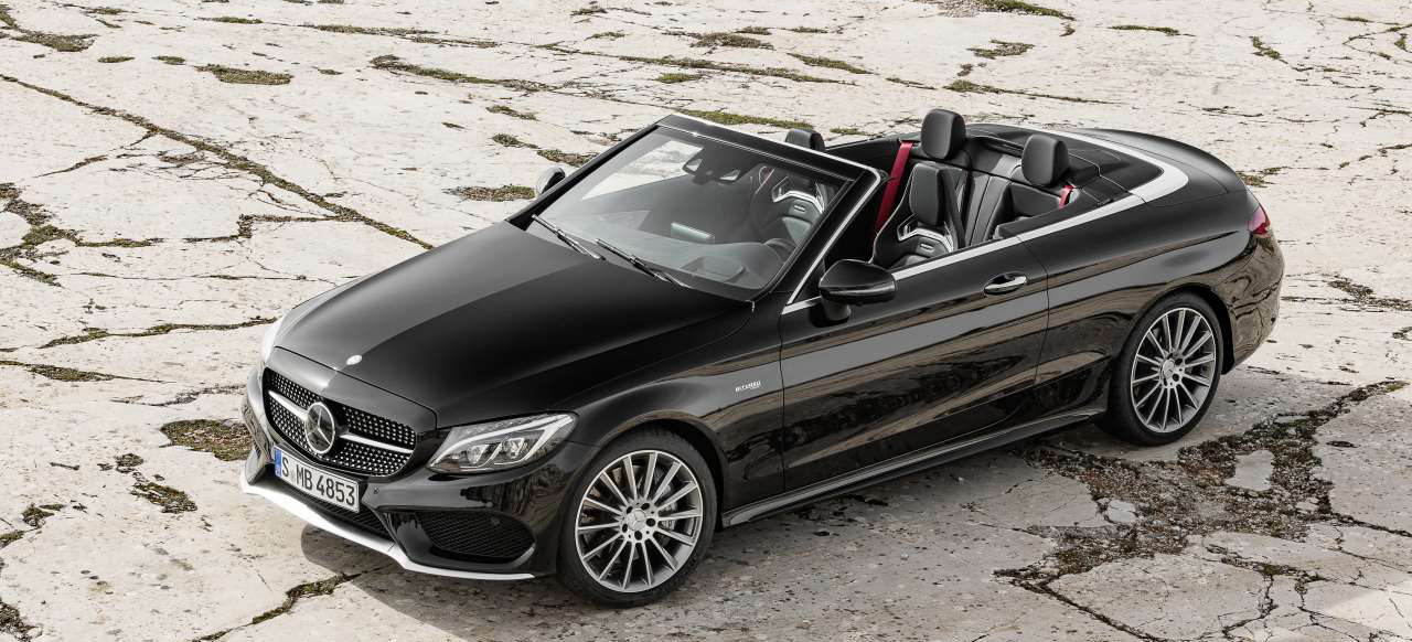 offen und z gig das neue mercedes amg c 43 4matic cabriolet frisch forsch frei premiere f r. Black Bedroom Furniture Sets. Home Design Ideas