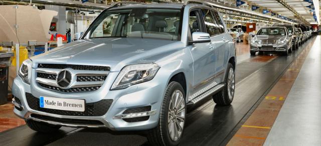 Es geht los: Produktion des neuen GLK gestartet : Im Mercedes-Werk ...