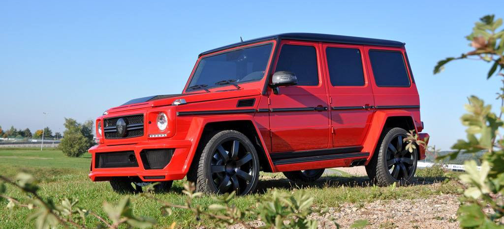 extrabreit mercedes g63 amg tuning performance paket. Black Bedroom Furniture Sets. Home Design Ideas
