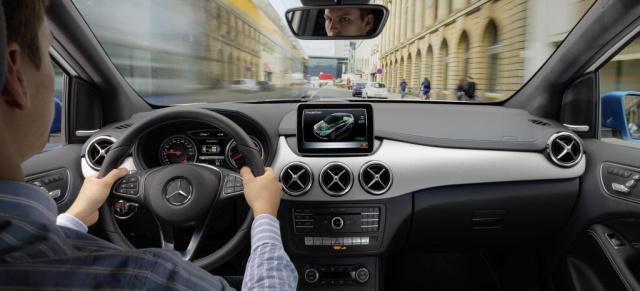 Im Kern einfach Klasse: Die inneren Werte der Mercedes B-Klasse ...