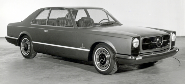 The one and only: Mercedes Coupe von Pininfarina: 1970er Mercedes-Benz 300 SEL 6.3 Pininfarina Coupé