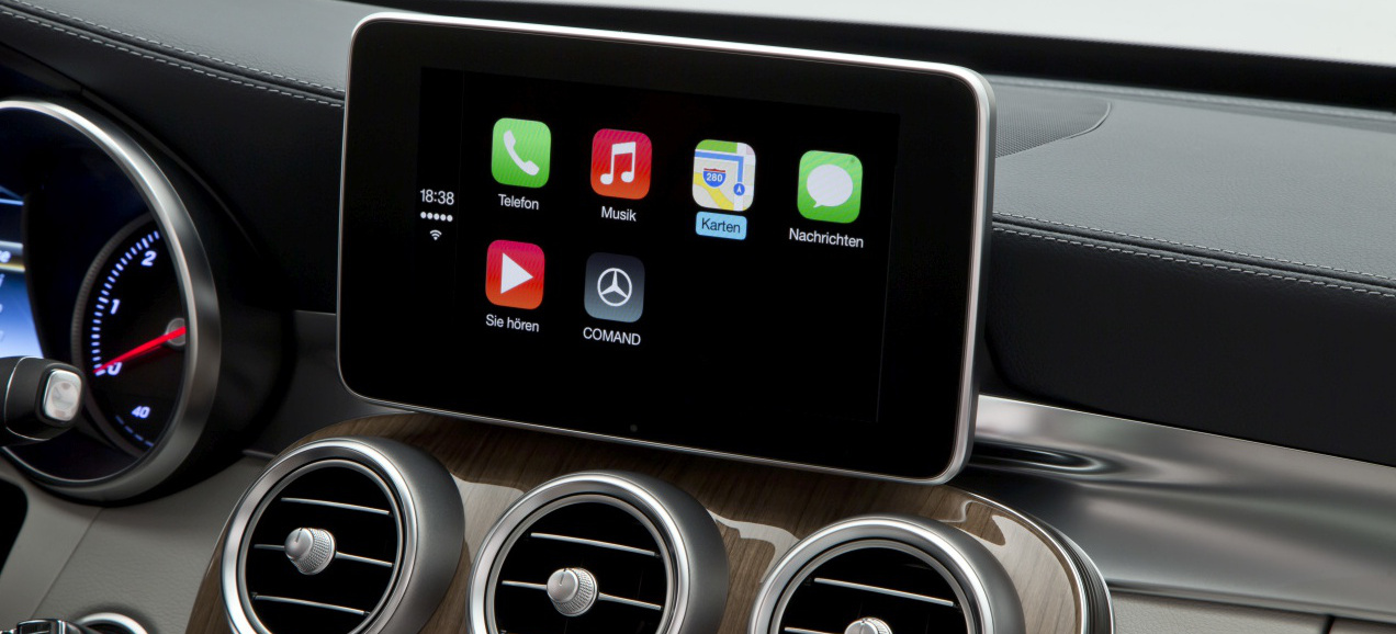 whatsapp jetzt auch f r apple carplay mercedes. Black Bedroom Furniture Sets. Home Design Ideas