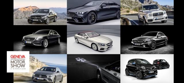 Genfer Autosalon 2018 Mercedes Neuheiten Das Sind Die Stars Von