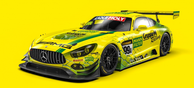 Der MANN-FILTER AMG GT3 in der International GT Challenge: Die MANN-FILTER Mamba geht nach Down Under!