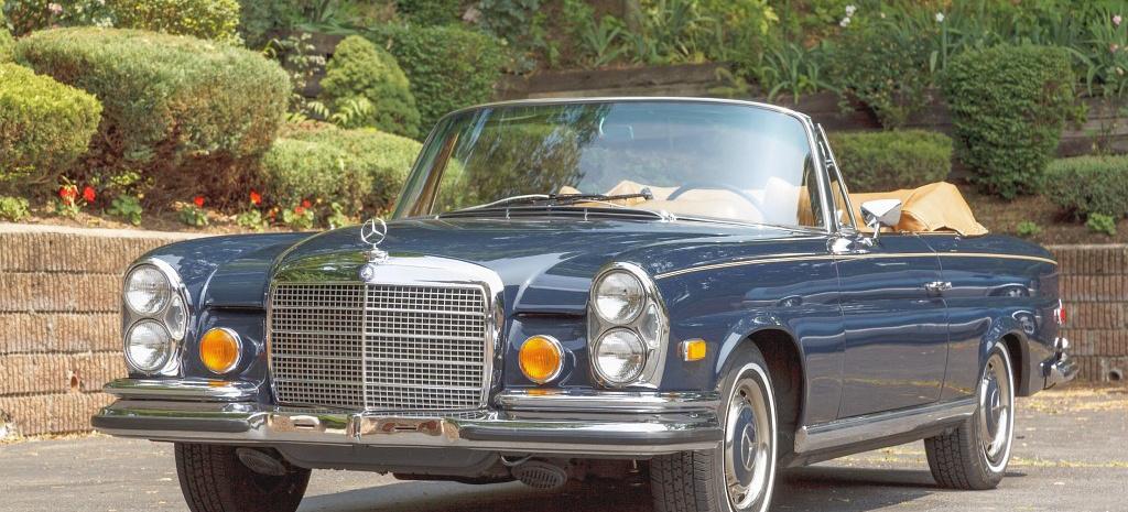 seltenes s klasse cabrio mit nur zwei besitzern 1970. Black Bedroom Furniture Sets. Home Design Ideas