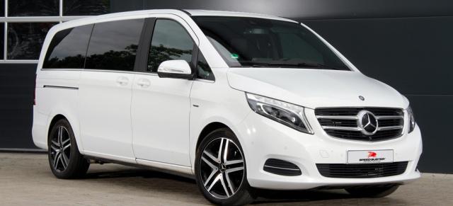 Mercedes-Benz V-Klasse: Motortuning: SPEED-Buster bietet ...