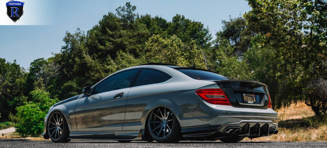 Mercedes-Benz C250 Optik-Tuning: Killerlook für das C-Klasse Coupé C204