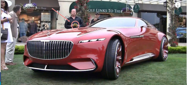 vision mercedes-maybach 6: video: das neue mercedes-maybach showcar