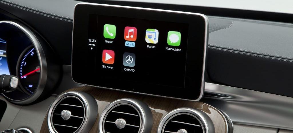 Apple CarPlay in der neuen C-Klasse: Mercedes-Benz bleibt Trendsetter bei Smartphone-Integration - Sternstunde