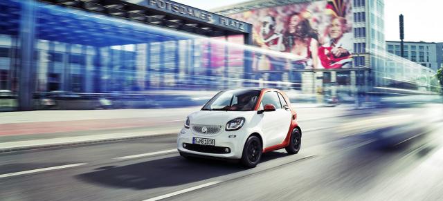 Der neue smart: kleines Auto mit großer Auswahl: Jetzt zehn Motor ...