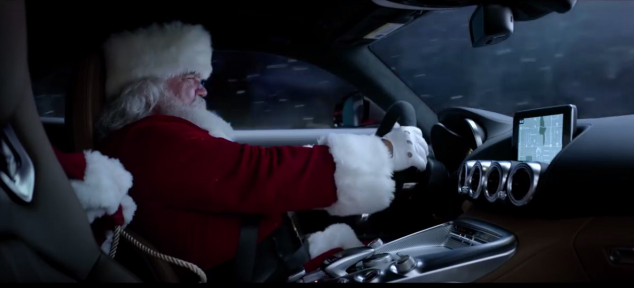 Mercedes Benz Gla >> Mercedes-Benz TV-Spots: 2 Videos: Mercedes USA Christmas ...