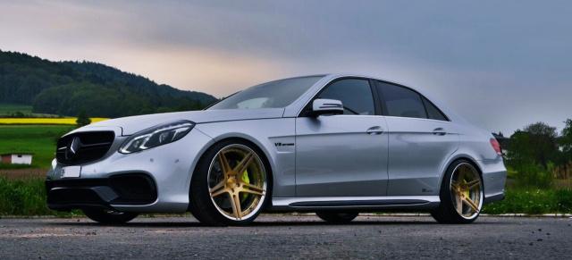 Tuning: Mercedes E63 AMG W212: Mehr Chic und mehr Power für den