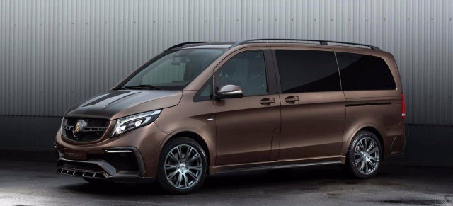 Mercedes-Benz V-Klasse: Tuning: Out now: Topcar präsentiert Inferno-Body-Kit für die Mercedes V-Klasse