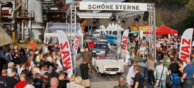 Mercedes-Treffen SCHÖNE STERNE 2016: SCHÖNE STERNE locken Mercedes-Fans aus aller Welt an