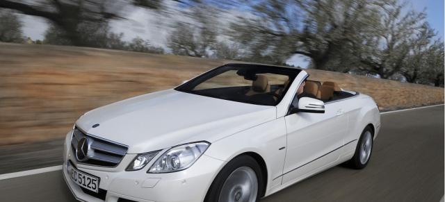 Test: Mercedes E-Klasse Cabrio 250 CGI : Ein Cruiser mit