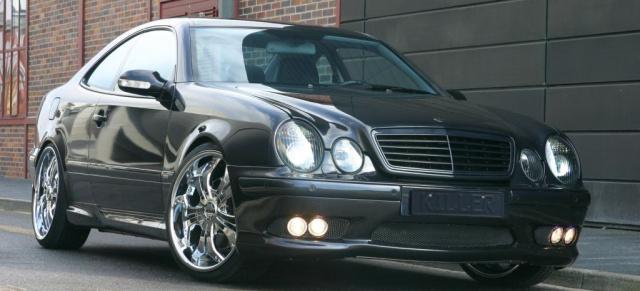 Mercedes Glc Coupe Tuning >> CLK - Clean, Leistungsstark und Kraftvoll: Mercedes Coupé mit V8-Power: Unter dem Schwarz lauert ...