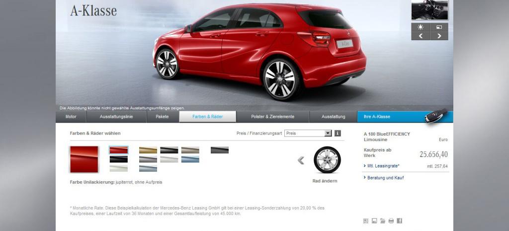 Unbedingt ausprobieren der neue mercedes for Mercedes benz homepage