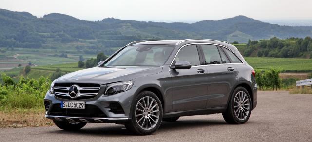 Der Neue Mercedes Benz Glc Im Fahrbericht Onroad Und