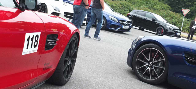 Mercedes-Benz Treffen: AMG Driver Meeting 02.07.2017
