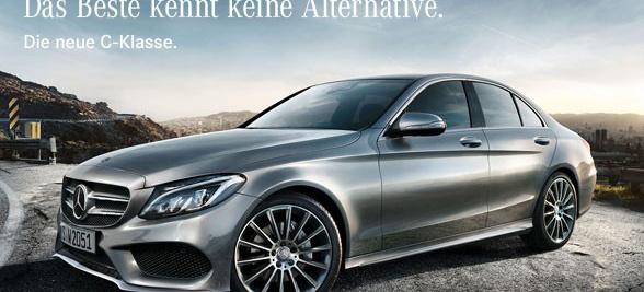 Das beste kennt keine alternative werbekampagne f r die for Mercedes benz tagline