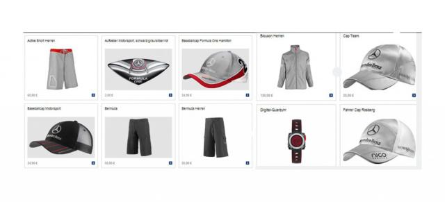 Mercedes gp fan bekleidung alles was den mercedes formel for Mercedes benz store online